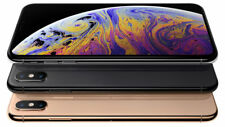 "Apple iPhone XS 256GB Dual Sim Silver 5.8"" Factory Unlocked Agsbeagle"