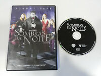 DARK SHADOWS SOMBRAS DA NOITE DVD JOHNNY DEPP TIM BURTON ENGLISH PORTUGUES REG 4