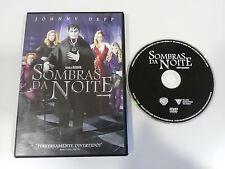 DARK SHADOWS SOMBRAS DA NOITE DVD JOHNNY DEPP TIM BURTON ENGLISH PORTUGUES REG 4