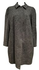 MARNI GRAY SNAP FRONT COAT, 40, $1350