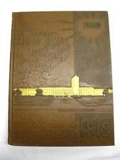 1950 University of Miami Ibis Yearbook Florida Football History Book Old Vtg Pic