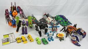 Lot 15 Hasbro Transformers G1 G2 Beast Wars Optimus Primal Jetfire Megatron