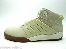 SUPRA SKYTOP III WHITE GUM SUEDE MEN SHOES SIZE 12