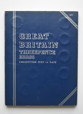 More details for  whitman folder threepence brass collection 1937 to 1967 full set
