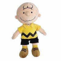 Peanuts Charlie Brown Plush Doll Stuffed Soft Plushie Toy 9 inch Xmas Gift