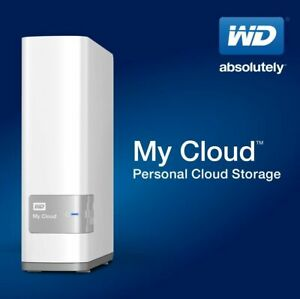 WD Western Digital My Cloud 8TB Personal Network Attached Storage - NAS