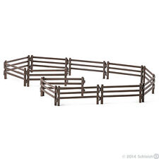 *NEW IN BOX* SCHLEICH 42106 - Paddock Fence 12 Panels - Farm Life Fences