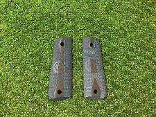 Factory Colt 1911 Full Size VZ Blue Grips