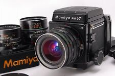 【Near Mint】 Mamiya RB67 Pro S + 50,90,140 West Level Finder From Japan #415