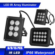 6/9/15 LED IR Infrared Illuminator Night Vision for CCTV Security Camera F8S1