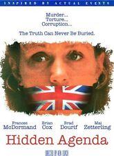 HIDDEN AGENDA - DVD - Region 1 - Sealed