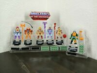 Mega Construx  Masters Of the Universe 5 pack figure set plus Man at Arms