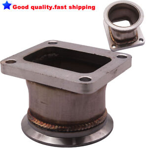 """3"""" inch 76mm Stainless Steel V band Adapter Flange For T4 Turbo V-Band Adaptor"""