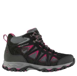 Karrimor Mount Mid Ladies Walking Boots Grey/Pink Size UK 5 US 7 EU 38 *REFSSS51