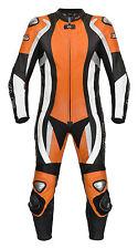Lederkombi XLS Einteiler schwarz KTM orange einteilig Gr. 48 50 52 54 56 58 60