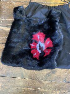 Real Mink Fur Bag