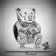 Pandora RETIRED Teddy Bear Charm Item No. 790395