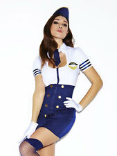 Ann Summers Fly Girl Pilot Outfit Size 14 *Ex-Party Display*