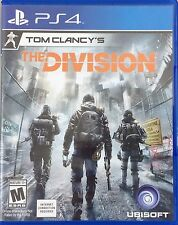 Tom Clancy's The Division (Sony PlayStation 4, 2016) (1367-SM11)