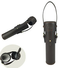 Tourbon Rifle Scope Case Gun Telescope Storage Sniper Hunting Box Real Leather