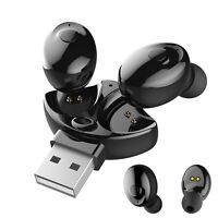 Bluetooth 5.0 Headset TWS auricolari Wireless Mini auricolari Cuffie stereo IPX5