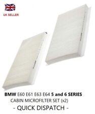 BMW 5 series E60 E61 (03-) all cars pollen microfilter