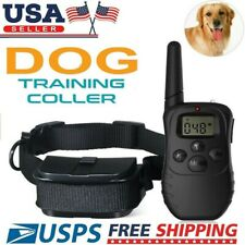 Waterproof Dog Shock Training Collar With Remote Electric Trainer Small Large