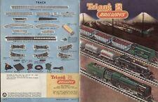 catalogo Triang TT Railways 1961 Vth edition TT Gauge  aa