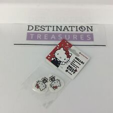 Hello Kitty GUITAR PICKS Set of 2 EMP Museum Supercute Exhibit NIP