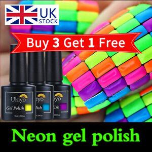 Belen Colour Neon Summer Bright Platinum Gel Nail Polish Varnish Lacquer UV LED