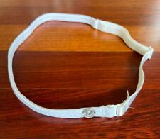 NEW NWOT Lululemon White First Release Strappy Adjustable Thin Headband RETIRED
