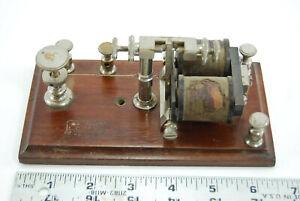 L. G. Tillotson Telegraph relay