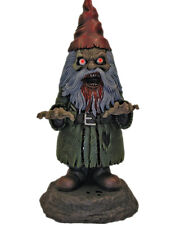 """17"""" Deluxe Light Up Zombie Garden Gnome Halloween Decoration Yard Ornament"""