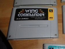GAME/JEU SNES KONAMI SUPER NITENDO JAPANESE Wing Commander SHVC-WC JAPAN