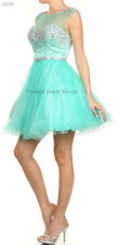 SEMI FORMAL COCKTAIL DRESS DANCE SHORT PROM HOMECOMING BIRTHDAY PARTY GRADUATION