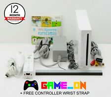 Nintendo Wii White Console Bundle (PAL) Controller ~ Wii Sports Game & FREE P+P