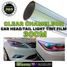 Transparent Chameleon Color Change Headlight Tint Fog Light Film Decal 30CMx80CM