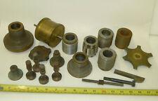 Vintage FUSEE CUTTING ENGINE parts/cones lathe thread type ex. Thwaites & Reed?