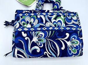 Vera Bradley Hanging Travel Organizer MEDITERRANEAN BLUE Toiletries Folding Bag