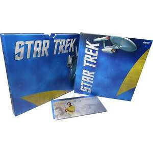 2018 Niue Star Trek Original Series Kirk 5g .999 Silver $1 Coin Note w/ Album