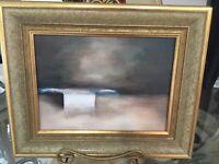 Sophie Renoir De Beauregard Oil On Canvas Painting