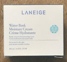 NEW Laneige Korean Beauty Water Bank Moisture Cream 20ml Travel Size