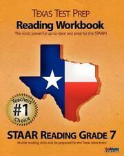 Texas Test Prep Reading Workbook, STAAR Reading Grade 7, Test Master Press, Good