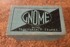 Box of Gnome Metal Transparency Frames.