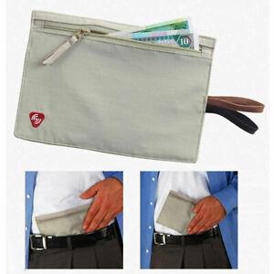 Lewis N Clark RFID Blocking Money Belt Travel Pouch Credit Card, ID, Passport