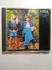Abba GREATEST HITS cd West Germany TARGET 1ST PRESS (NO-red/blue face.discomate)