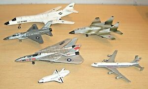 ERTL Airplane / Shuttle Models x6 inc. US Air Force / NASA