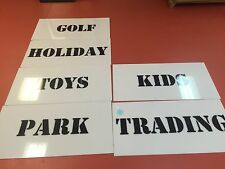 Disney World Store Signs Park Used Lot Of 6