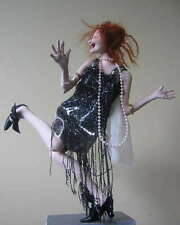 """*NEW* CLOTH ART DOLL (PAPER) PATTERN """"DANCE LIKE NO ONE IS WATCHING"""""""