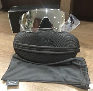 Evzero Blades Oakley OO9454 Men's Sunglasses Matte Black Clear/ Black Photo IRID
